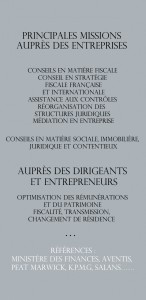 BC Avocat fiscaliste - Domaines d'intervention
